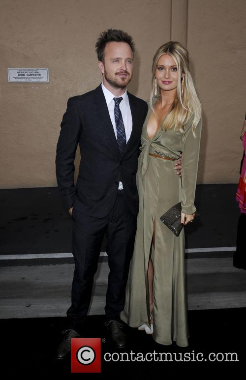 Aaron Paul and Lauren Parsekian 8