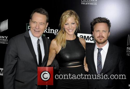 Bryan Cranston, Anna Gunn and Aaron Paul 2