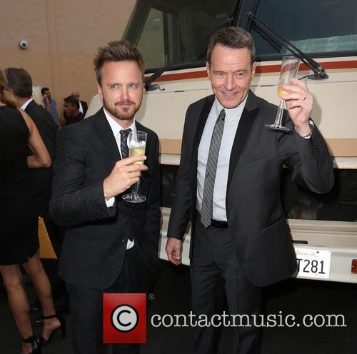 Aaron Paul and Bryan Cranston 11