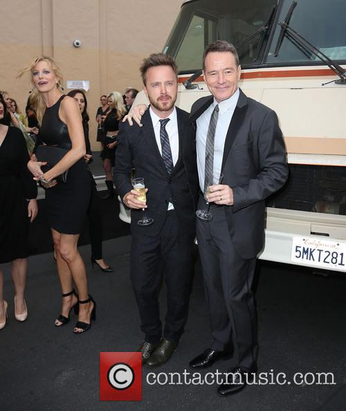 Anna Gunn, Aaron Paul and Bryan Cranston 9
