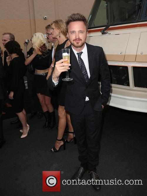 ANNA GUNN and AARON PAUL 2