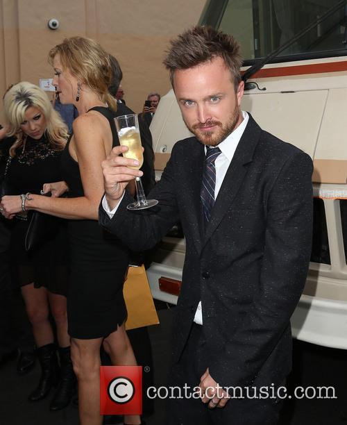ANNA GUNN and AARON PAUL 1