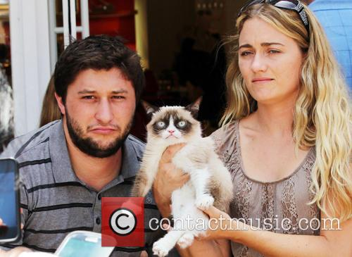 Grumpy Cat at The Grove in Los Angeles