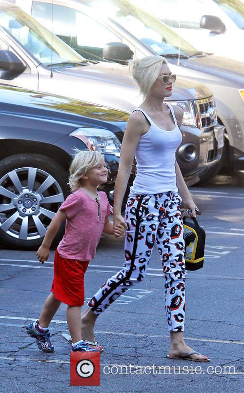 Gwen Stefani and Zuma Rossdale out and about...