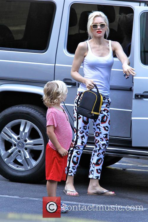 Gwen Stefani and Zuma Rossdale out and about in Beverly Hills
