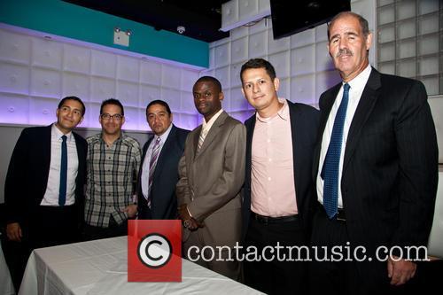 Franklin Mora, Juan Fernando Velasco, Christian Navaez, Fabrizio Moreira, Welby Accely and Richard Stopol 2