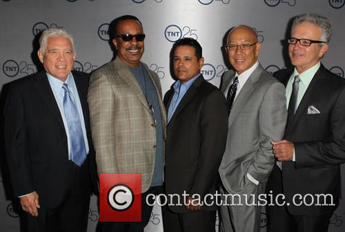G.w. Bailey, Raymond Cruz, Robert Gossett, Tony Denison and Michael Paul Chan 2