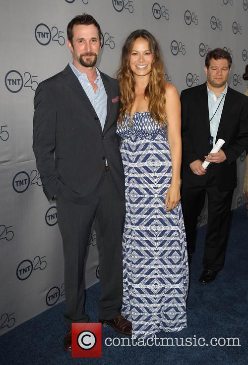 Noah Wyle and Moon Bloodgood 1