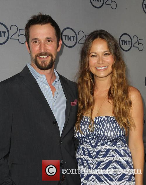 Noah Wyle and Moon Bloodgood 5