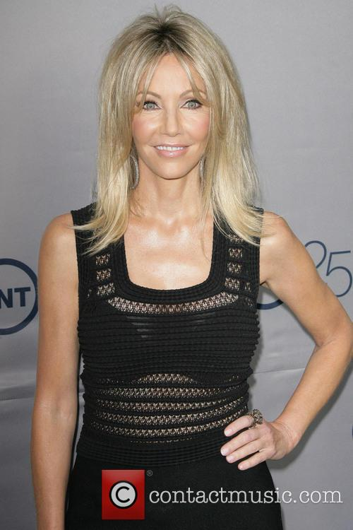 Heather Locklear at the TNT 25th Anniversary party