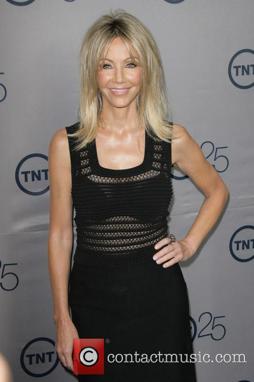 Heather Locklear at TNT 25th anniversary party