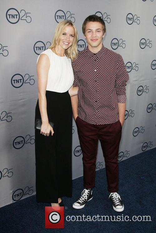 Jessy Schram and Connor Jessup 2