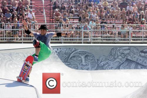 The Van Doren Invitational bowl riding competition Skate...