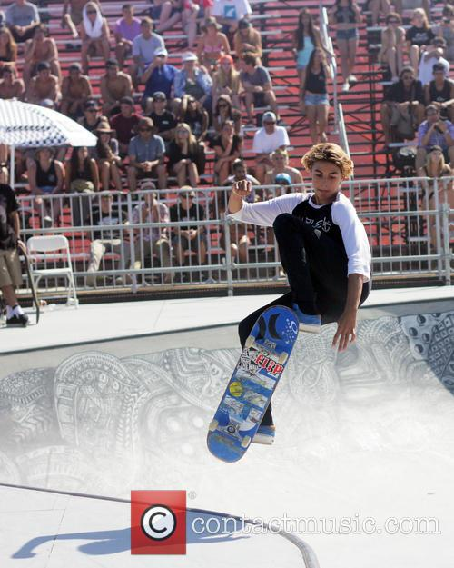 The Van Doren Invitational bowl riding competition Skate...