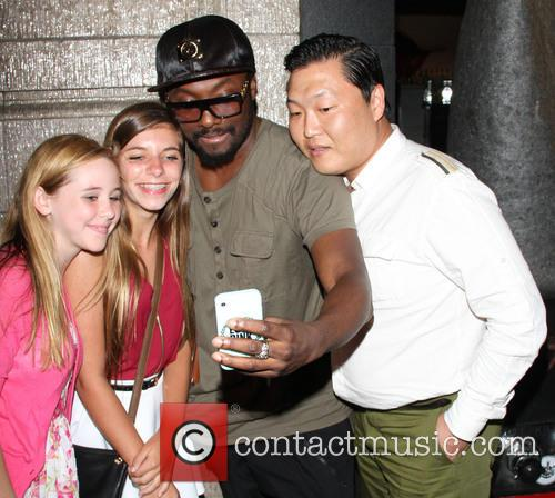 Will.i.am and Psy 2