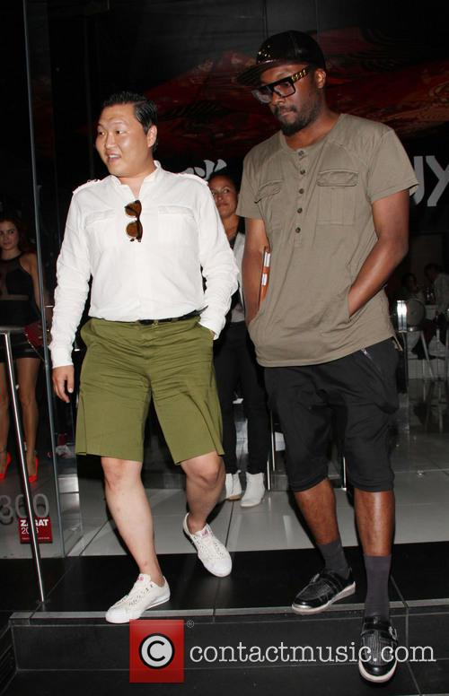 Will.i.am and Psy 4