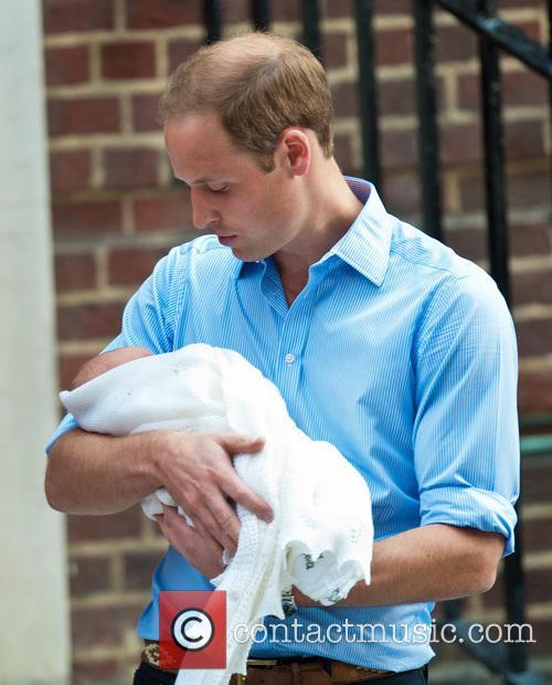 Prince William, The Duke of Cambridge, St Marys Hospital