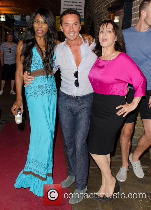 Sinitta, Bruno Tonioli and Arlene Phillips 2