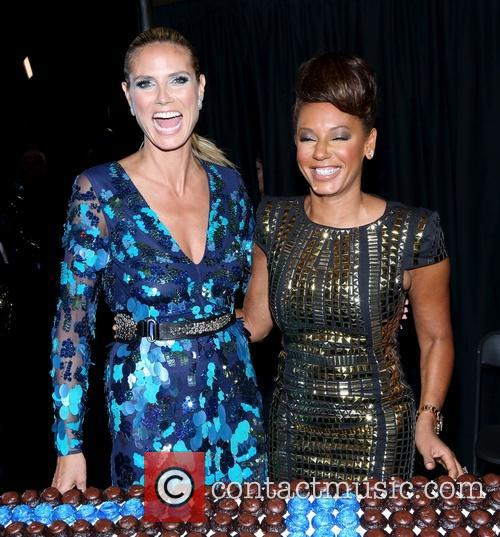 Heidi Klum, Mel B and Melanie Brown 2