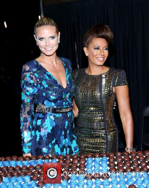 Heidi Klum, Mel B and Melanie Brown 7