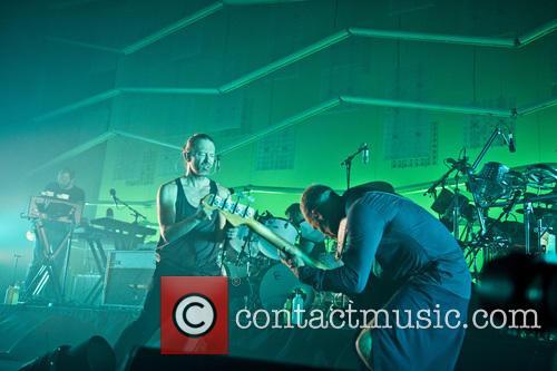 Thom Yorke and Flea 3