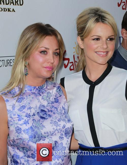 Kaley Cuoco and Ali Fedotowsky 1