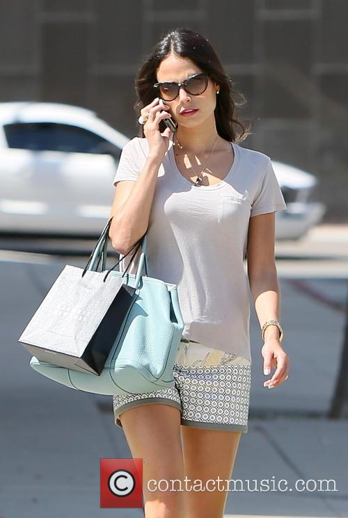 Jordana Brewster seen leaving Barneys New Yor