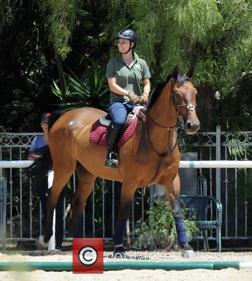 kaley cuoco kaley cuoco seen horseback riding 3781472