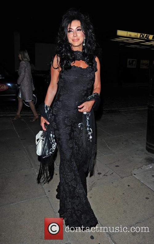 Nancy Dell'Olio at Loulous nightclub
