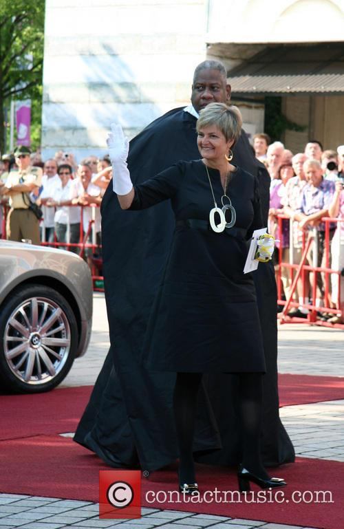 Gloria Von Thurn Und Taxis and Andre Leon Talley 1