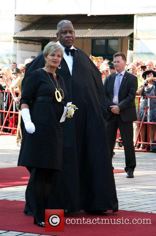 Gloria Von Thurn Und Taxis and Andre Leon Talley 2