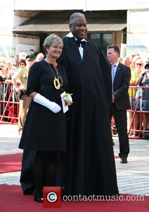 Gloria Von Thurn Und Taxis and Andre Leon Talley 3