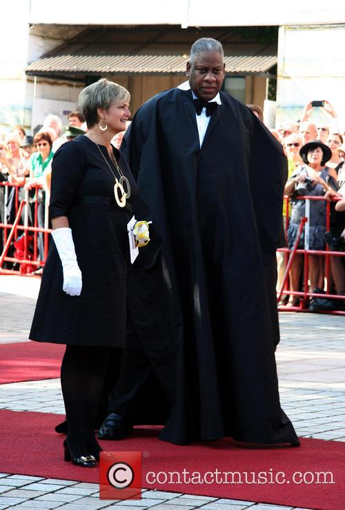 Gloria Von Thurn Und Taxis and Andre Leon Talley 4