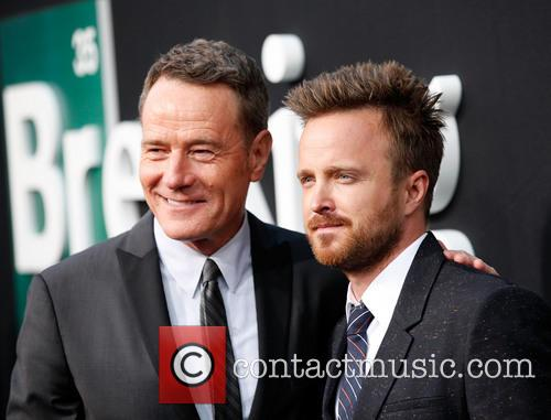 Bryan Cranston and Aaron Paul 9