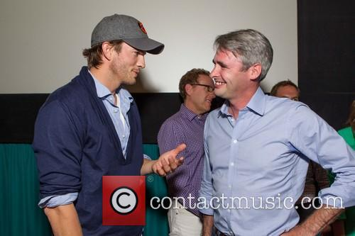 Ashton Kutcher and Mike Mccue 5