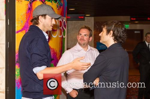 Ashton Kutcher, Owen Thomas and Joshua Michael Stern 7
