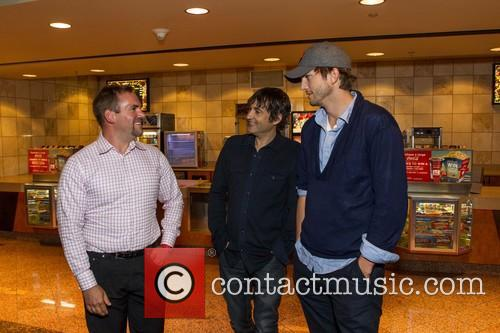 Owen Thomas, Joshua Michael Stern and Ashton Kutcher 2