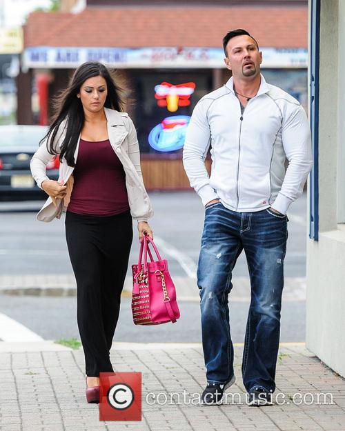 Jenni 'Jwoww' Farley and fiance Roger Matthews out...