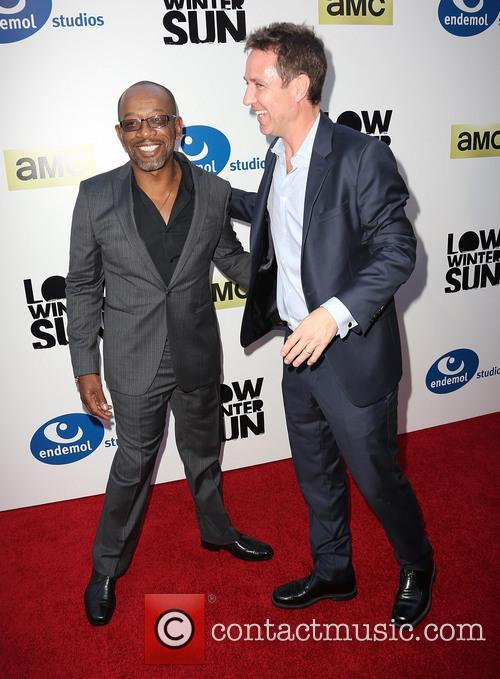 Lennie James and Chris Mundy 5