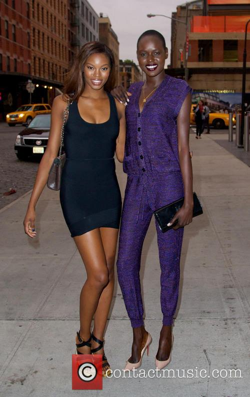 Jeneil Williams and Ajak Deng 2