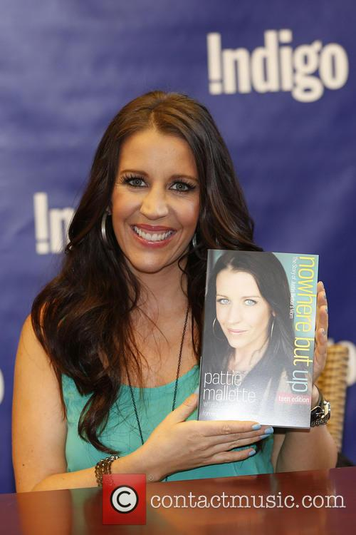 Pattie Mallette book signing for 'Nothing But Up'...