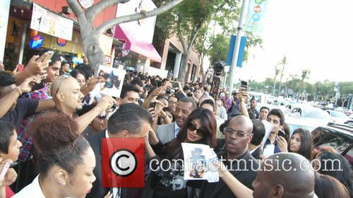 Priyanka Chopra and Crowd 4