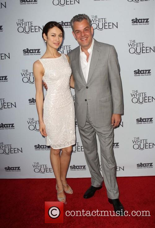 Olga Kurylenko and Danny Huston 5