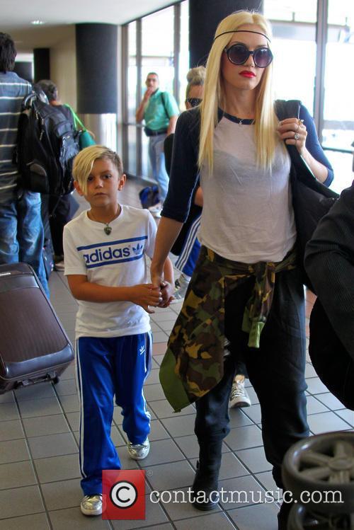 Gwen Stefani and Kingston Rossdale 2
