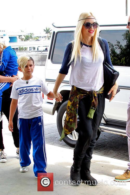 Gwen Stefani and Kingston Rossdale 4