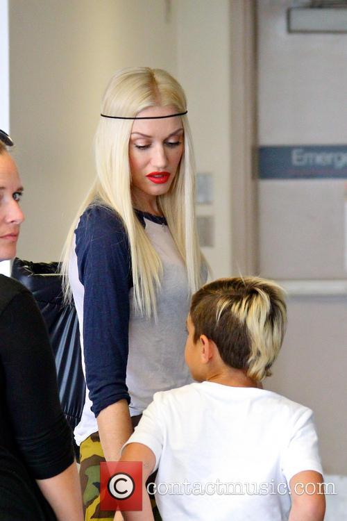 Gwen Stefani and Kingston Rossdale 7