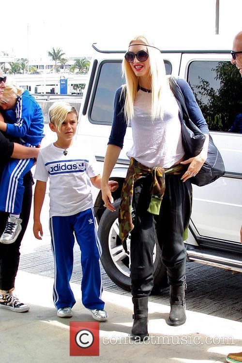 Gwen Stefani and Kingston Rossdale 11