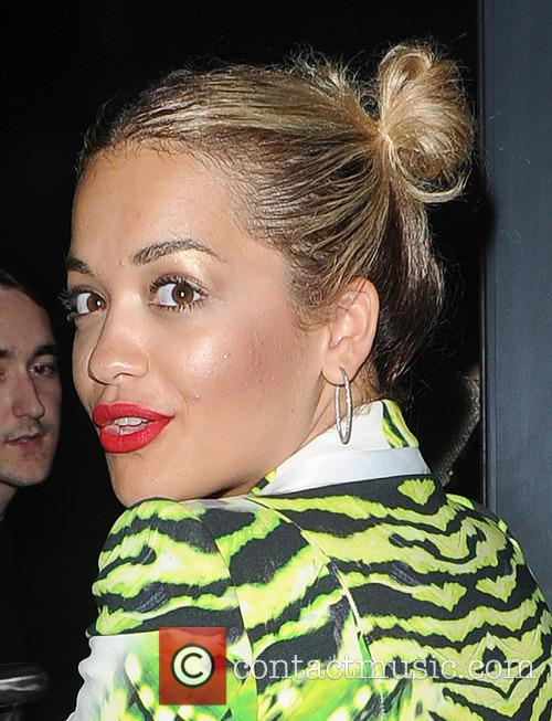 Rita Ora leaves Scotch members nightclub