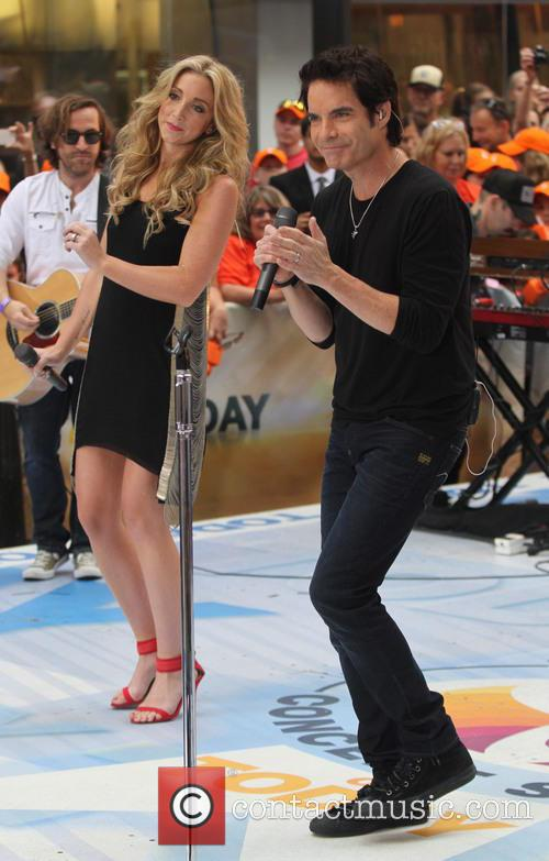 Pat Monahan and Ashley Monroe 2