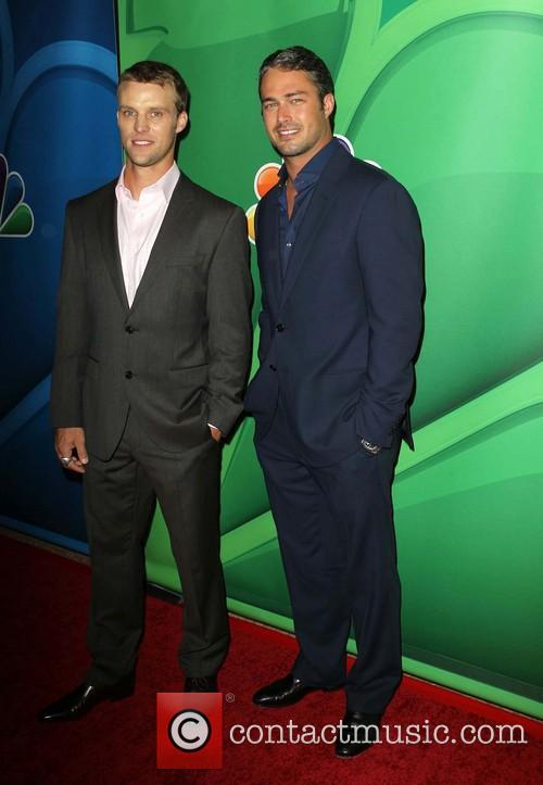 Jesse Spencer and Taylor Kinney 9